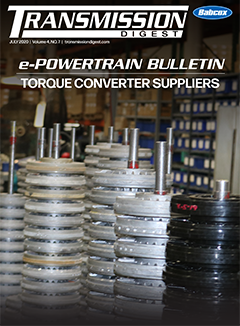 July 2020 ePowertrain Bulletin